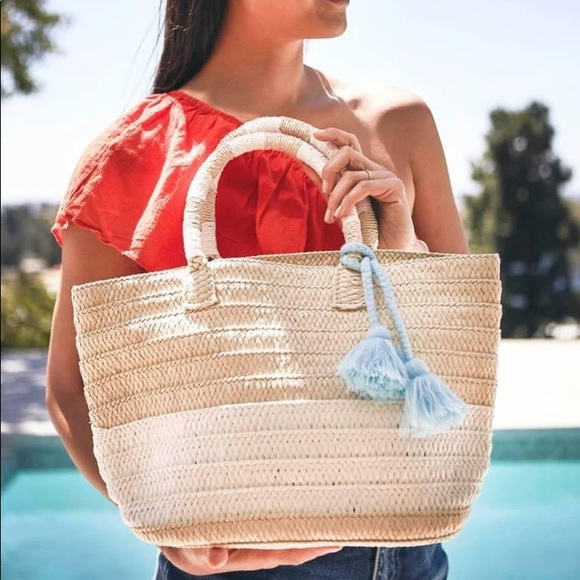New Altru Ethical Straw Tote with Duster Bag!